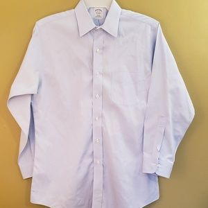 Brooks Brothers slim fit no iron dress shirt